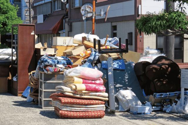 粗大ごみ処分出来ない方の不用品を回収します。