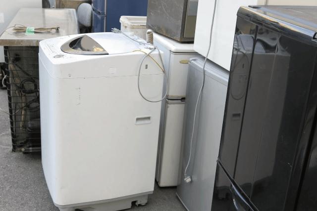 家電リサイクル処分も搬出からから処分まで対応