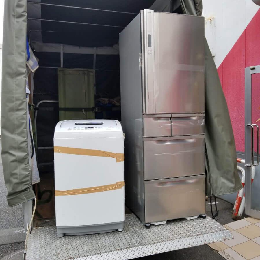 冷蔵庫・洗濯機の家電リサイクル処分のご依頼のイメージ画像