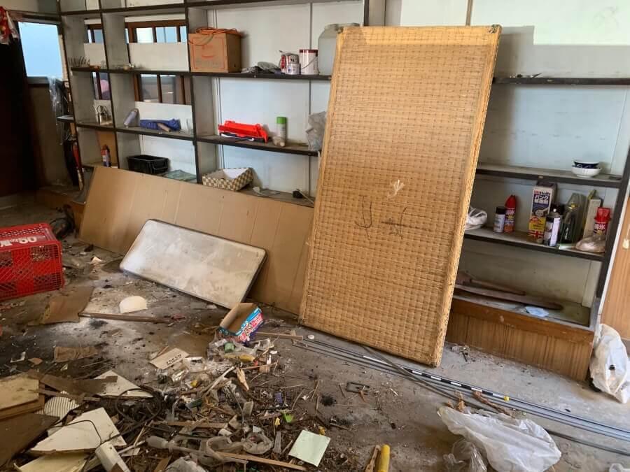 家屋建て替えにより、倉庫内の保管品を処分したい。のイメージ画像