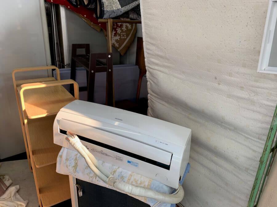 戸田市内のエアコンと家具の回収処分依頼のイメージ画像