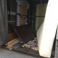 セミダブルベッドの不用品回収
