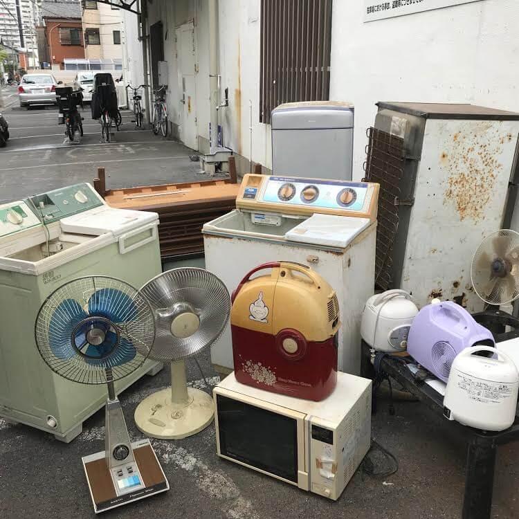 戸田市内のアパートオーナー様より家電処分のご依頼のイメージ画像